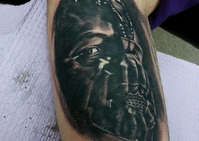 Bane Tattoo by Billy Muren