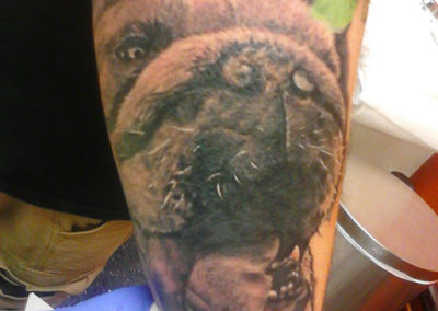 Dog Tattoo Billy Muren