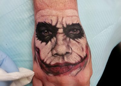 Joker Tattoo By Billy Muren