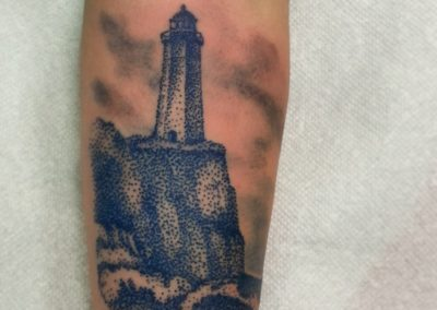 Light House Tattoo by Billy Muren