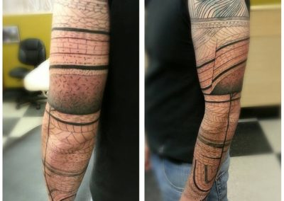 Pattern Tattoo by Billy Muren